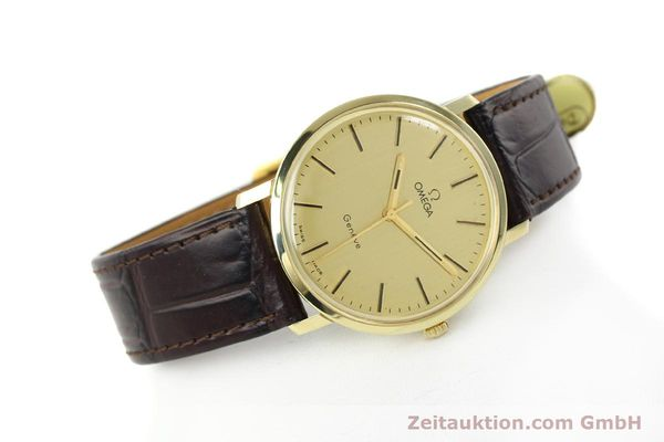 Used luxury watch Omega * 14 ct yellow gold manual winding Kal. 1030 Ref. 1211  | 142241 03