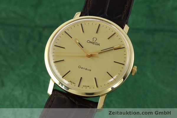 Used luxury watch Omega * 14 ct yellow gold manual winding Kal. 1030 Ref. 1211  | 142241 04