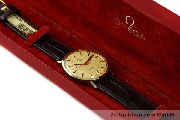 Used luxury watch Omega * 14 ct yellow gold manual winding Kal. 1030 Ref. 1211  | 142241 07