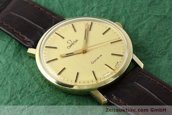 Used luxury watch Omega * 14 ct yellow gold manual winding Kal. 1030 Ref. 1211  | 142241 13