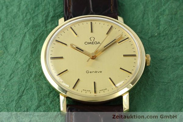 Used luxury watch Omega * 14 ct yellow gold manual winding Kal. 1030 Ref. 1211  | 142241 14