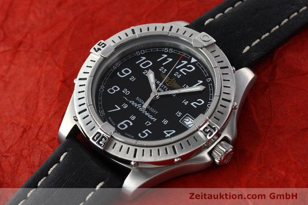 Used luxury watch Breitling Colt steel quartz Kal. B64 ETA 955612 Ref. A64050  | 142242 01