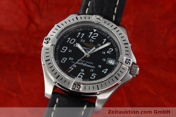 Used luxury watch Breitling Colt steel quartz Kal. B64 ETA 955612 Ref. A64050  | 142242 04