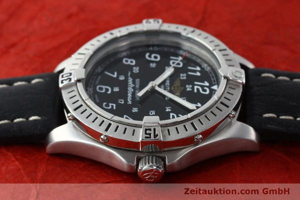 Used luxury watch Breitling Colt steel quartz Kal. B64 ETA 955612 Ref. A64050  | 142242 05