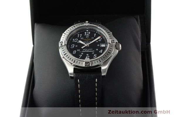 Used luxury watch Breitling Colt steel quartz Kal. B64 ETA 955612 Ref. A64050  | 142242 07