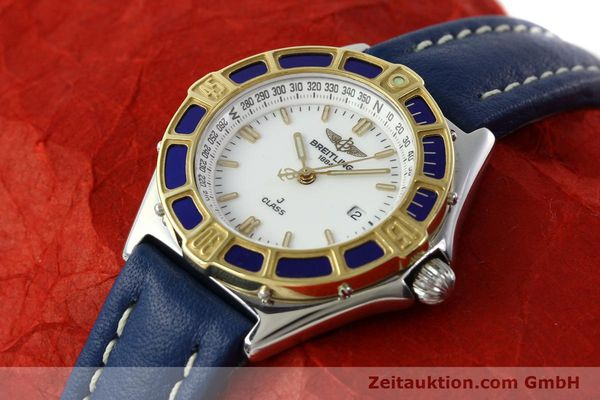 Used luxury watch Breitling J-Class steel / gold quartz Kal. B52 ETA 956.112 Ref. D52063  | 142243 01