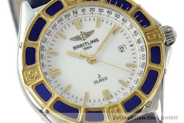 Used luxury watch Breitling J-Class steel / gold quartz Kal. B52 ETA 956.112 Ref. D52063  | 142243 02