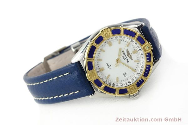 Used luxury watch Breitling J-Class steel / gold quartz Kal. B52 ETA 956.112 Ref. D52063  | 142243 03
