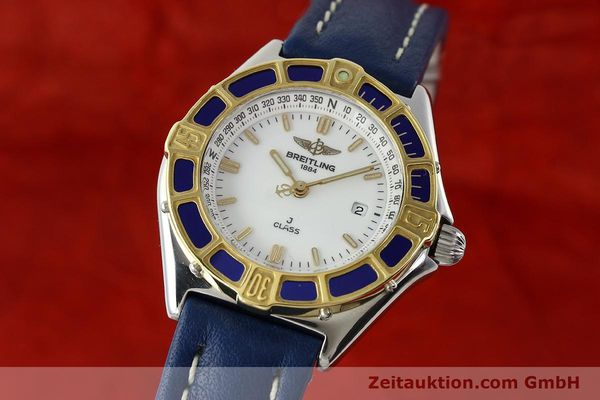 Used luxury watch Breitling J-Class steel / gold quartz Kal. B52 ETA 956.112 Ref. D52063  | 142243 04