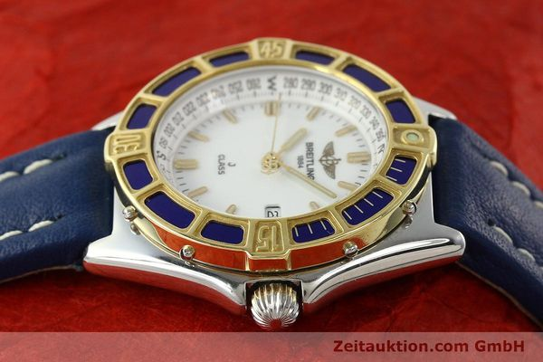 Used luxury watch Breitling J-Class steel / gold quartz Kal. B52 ETA 956.112 Ref. D52063  | 142243 05