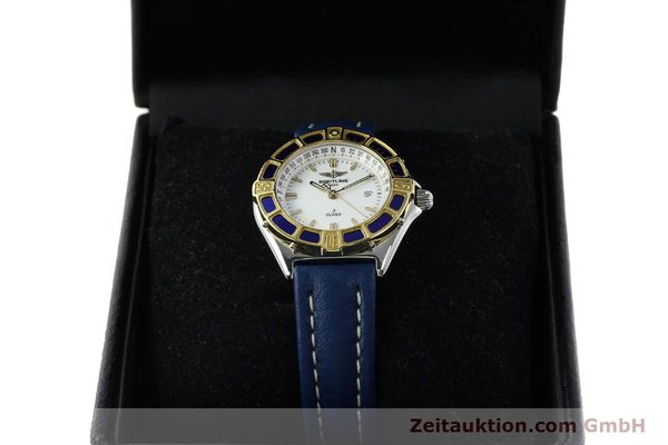 Used luxury watch Breitling J-Class steel / gold quartz Kal. B52 ETA 956.112 Ref. D52063  | 142243 07
