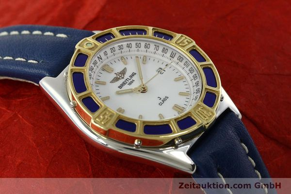 Used luxury watch Breitling J-Class steel / gold quartz Kal. B52 ETA 956.112 Ref. D52063  | 142243 13