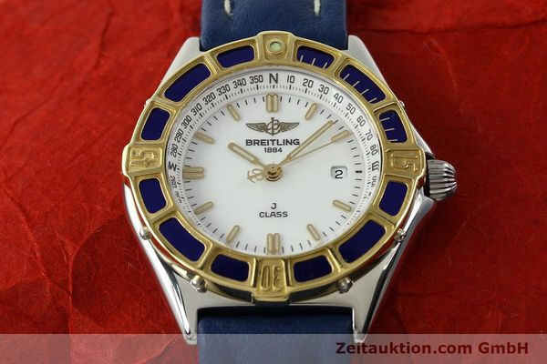 Used luxury watch Breitling J-Class steel / gold quartz Kal. B52 ETA 956.112 Ref. D52063  | 142243 14