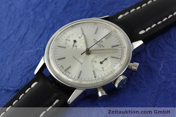 Used luxury watch Breitling Top Time chronograph steel manual winding Kal. Venus 188 Ref. 2002  | 142244 01