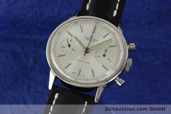 Used luxury watch Breitling Top Time chronograph steel manual winding Kal. Venus 188 Ref. 2002  | 142244 04