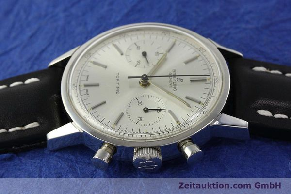 Used luxury watch Breitling Top Time chronograph steel manual winding Kal. Venus 188 Ref. 2002  | 142244 05