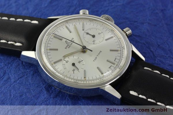 Used luxury watch Breitling Top Time chronograph steel manual winding Kal. Venus 188 Ref. 2002  | 142244 13