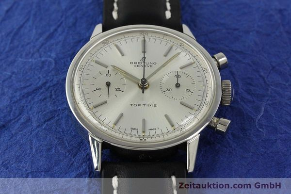 Used luxury watch Breitling Top Time chronograph steel manual winding Kal. Venus 188 Ref. 2002  | 142244 14