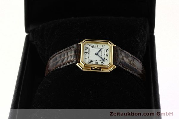 Used luxury watch Cartier * 18 ct gold manual winding Kal. 71-1 ETA 7512-1  | 142249 07