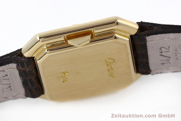 Used luxury watch Cartier * 18 ct gold manual winding Kal. 71-1 ETA 7512-1  | 142249 08