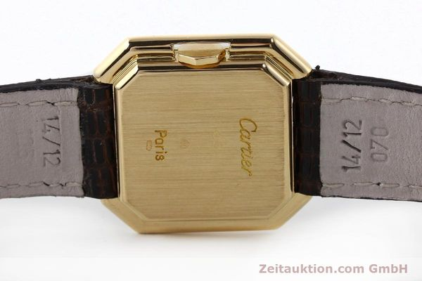 Used luxury watch Cartier * 18 ct gold manual winding Kal. 71-1 ETA 7512-1  | 142249 09