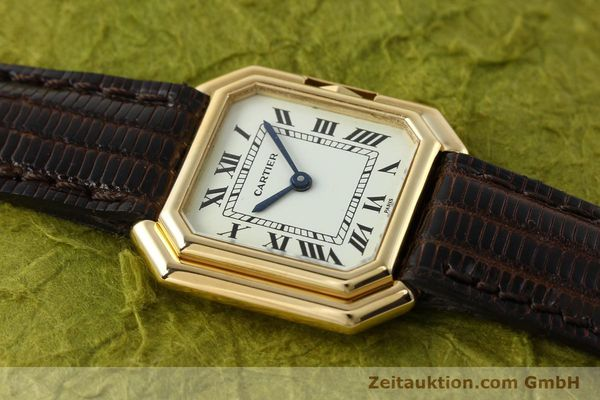 Used luxury watch Cartier * 18 ct gold manual winding Kal. 71-1 ETA 7512-1  | 142249 12