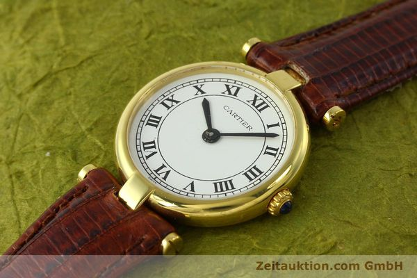 Used luxury watch Cartier Vermeil silver-gilt quartz Kal. 81  | 142250 01