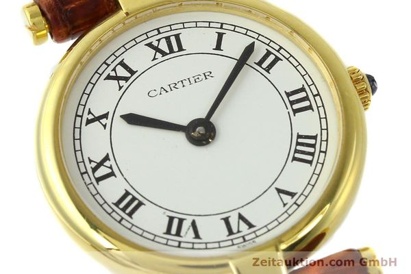 Used luxury watch Cartier Vermeil silver-gilt quartz Kal. 81  | 142250 02