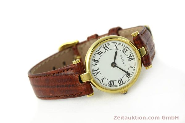 Used luxury watch Cartier Vermeil silver-gilt quartz Kal. 81  | 142250 03