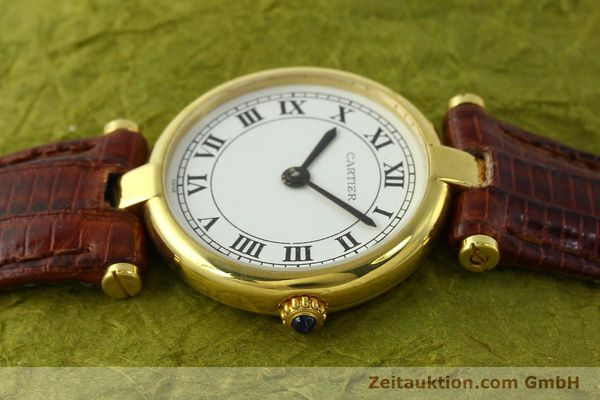 Used luxury watch Cartier Vermeil silver-gilt quartz Kal. 81  | 142250 05