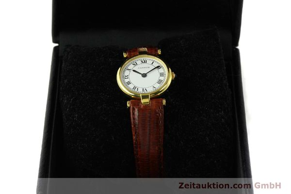 Used luxury watch Cartier Vermeil silver-gilt quartz Kal. 81  | 142250 07