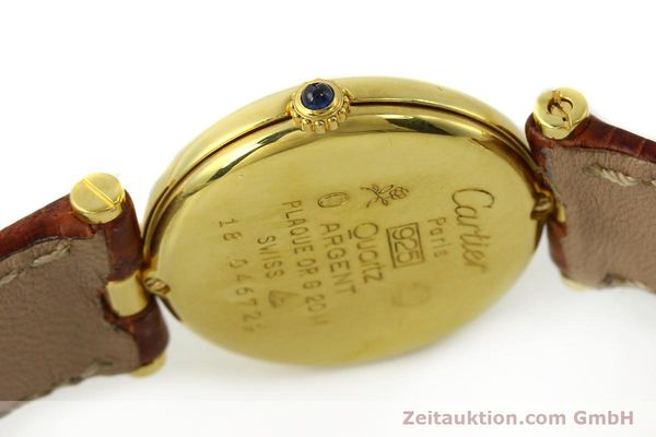 Used luxury watch Cartier Vermeil silver-gilt quartz Kal. 81  | 142250 08