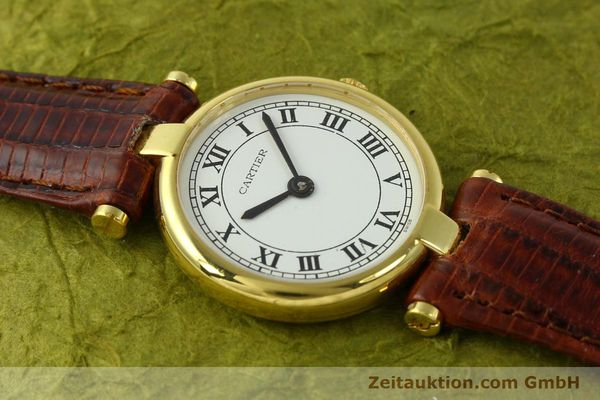 Used luxury watch Cartier Vermeil silver-gilt quartz Kal. 81  | 142250 12