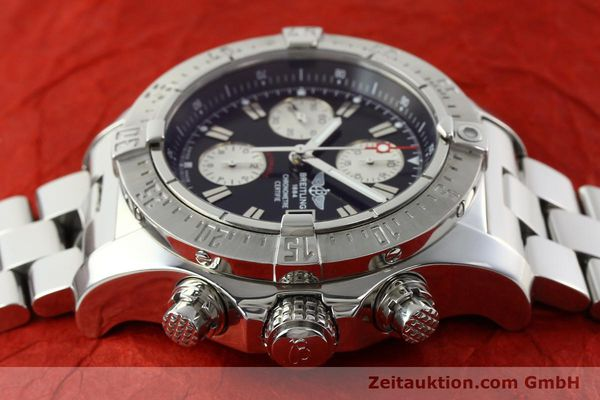 Used luxury watch Breitling Avenger chronograph steel automatic Kal. B13 ETA 7750 Ref. A13380  | 142251 05