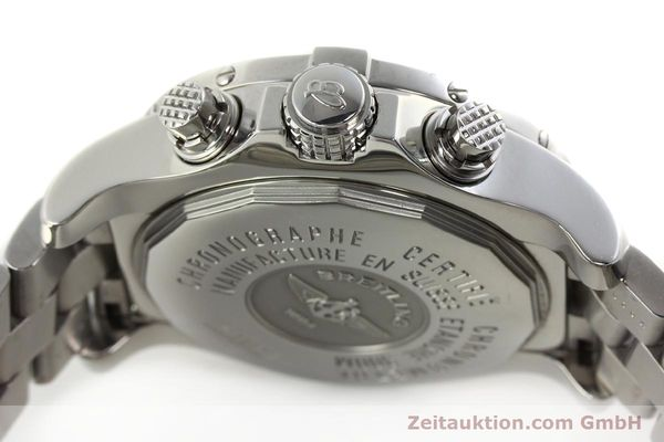 Used luxury watch Breitling Avenger chronograph steel automatic Kal. B13 ETA 7750 Ref. A13380  | 142251 08