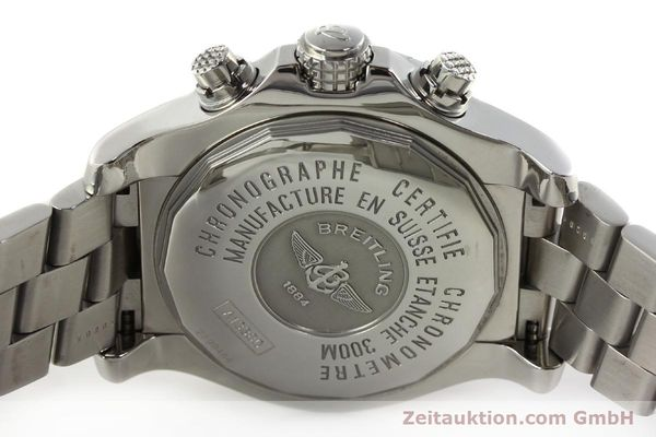 Used luxury watch Breitling Avenger chronograph steel automatic Kal. B13 ETA 7750 Ref. A13380  | 142251 09
