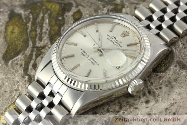 Used luxury watch Rolex Datejust steel / white gold automatic Kal. 1570 Ref. 1603  | 142252 01