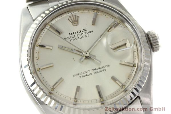 Used luxury watch Rolex Datejust steel / white gold automatic Kal. 1570 Ref. 1603  | 142252 02