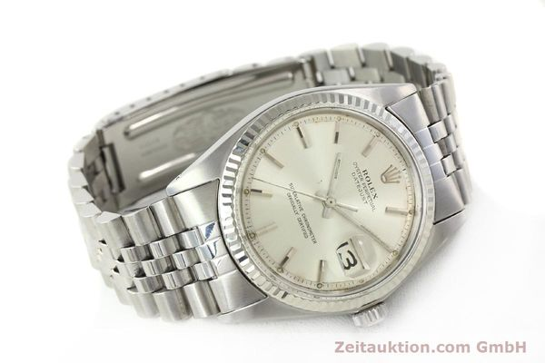 Used luxury watch Rolex Datejust steel / white gold automatic Kal. 1570 Ref. 1603  | 142252 03