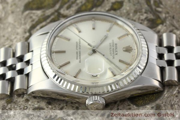 Used luxury watch Rolex Datejust steel / white gold automatic Kal. 1570 Ref. 1603  | 142252 05