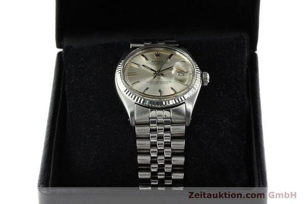 Used luxury watch Rolex Datejust steel / white gold automatic Kal. 1570 Ref. 1603  | 142252 07