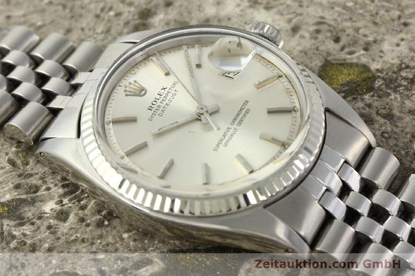 Used luxury watch Rolex Datejust steel / white gold automatic Kal. 1570 Ref. 1603  | 142252 14