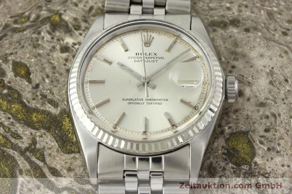 Used luxury watch Rolex Datejust steel / white gold automatic Kal. 1570 Ref. 1603  | 142252 15