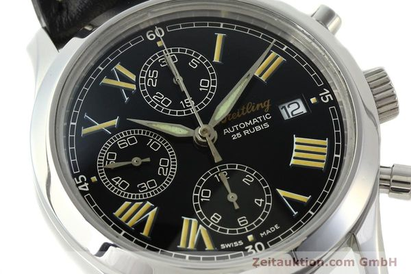 Used luxury watch Breitling Grand Premier chronograph steel automatic Kal. B13 ETA 7750 Ref. A13024.1  | 142254 02