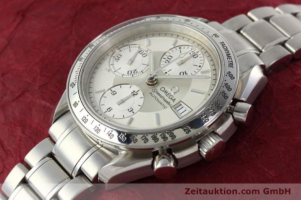 Used luxury watch Omega Speedmaster chronograph steel automatic Kal. 1152 Ref. 35133000  | 142256 01
