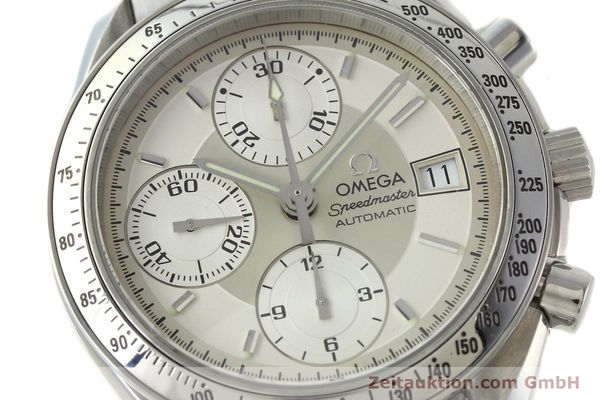 Used luxury watch Omega Speedmaster chronograph steel automatic Kal. 1152 Ref. 35133000  | 142256 02