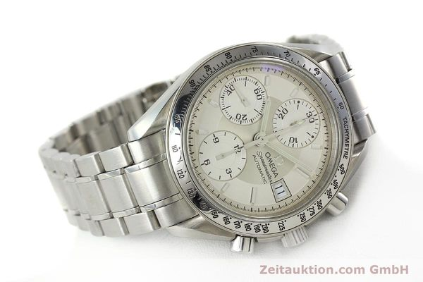 Used luxury watch Omega Speedmaster chronograph steel automatic Kal. 1152 Ref. 35133000  | 142256 03