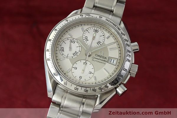 Used luxury watch Omega Speedmaster chronograph steel automatic Kal. 1152 Ref. 35133000  | 142256 04