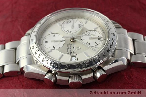 Used luxury watch Omega Speedmaster chronograph steel automatic Kal. 1152 Ref. 35133000  | 142256 05