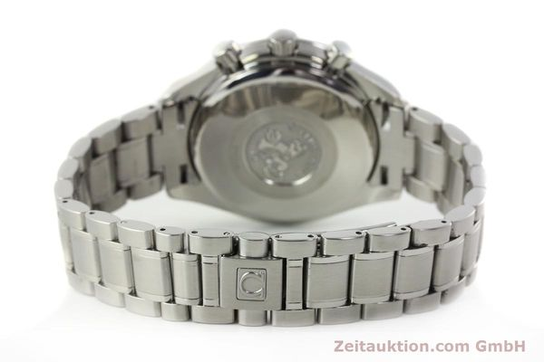 Used luxury watch Omega Speedmaster chronograph steel automatic Kal. 1152 Ref. 35133000  | 142256 13